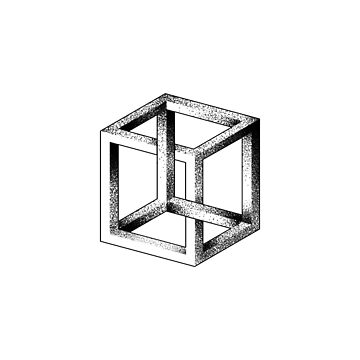 Impossible Cube (Escher Cube) by petervuart