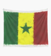 Senegal Flag Reworked No. 66, Series 5 Wandbehang