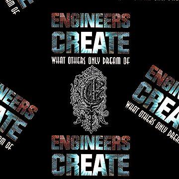 Engineers Create Fractal Typography Art by xzendor7