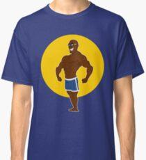 muscular man posing. Classic T-Shirt