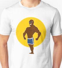 muscular man posing. T-Shirt