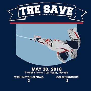 Washington Capitals - Stanley Cup Champions - The Save by mymainmandeebo