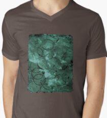 Textured teal circles T-Shirt