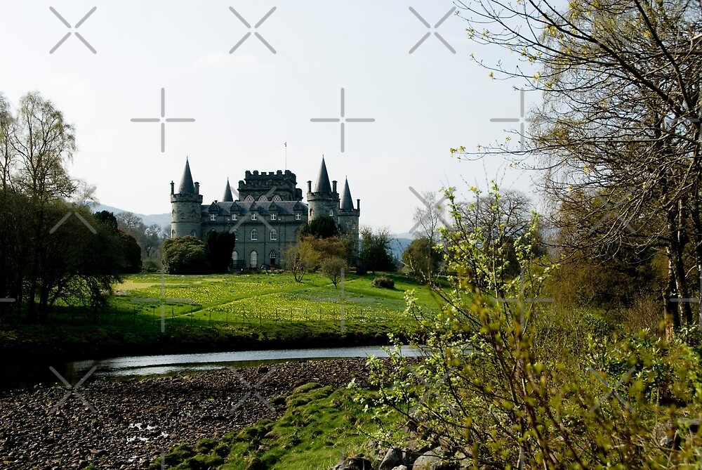Inverary Castle by JamesTH