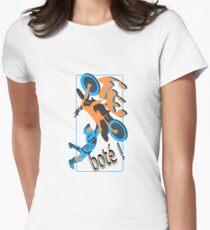 Motorcross te boté Women's Fitted T-Shirt