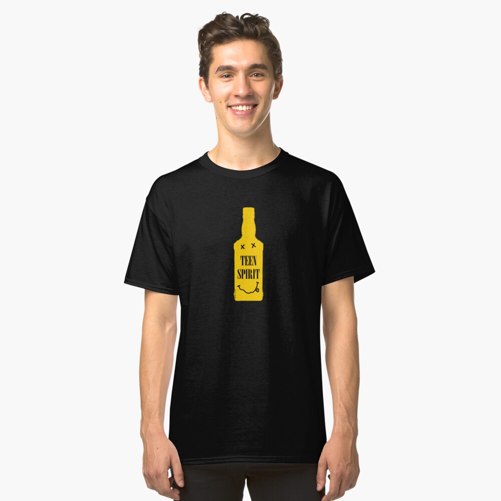 TEEN SPIRIT [YELLOW BOTTLE] Classic T-Shirt Front