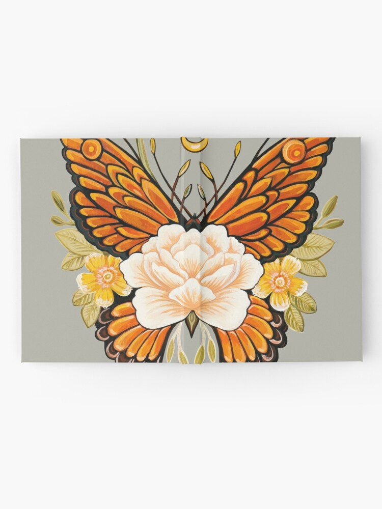 Alternate view of Tattoo Butterfly Peonies Hardcover Journal