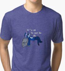 It's ok to not be Ok Tri-blend T-Shirt