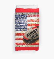 Rugby Football  Duvet Cover