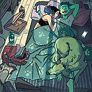 You fell asleep by GabrielPicolo