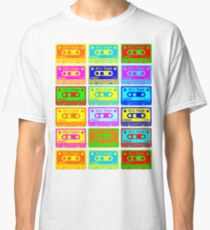 Psychedelic Mix Tapes Classic T-Shirt