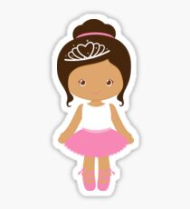 Ballerina / biracial  Sticker