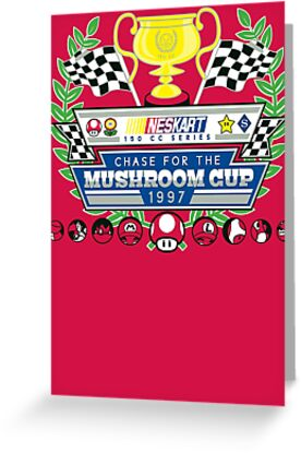 Chase for the Mushroom Cup by TheBensanity