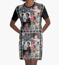 Elio~Elio~Elio Graphic T-Shirt Dress