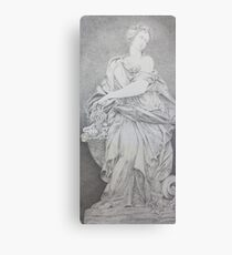 Trevi Fountain Sculpture  Canvas Print