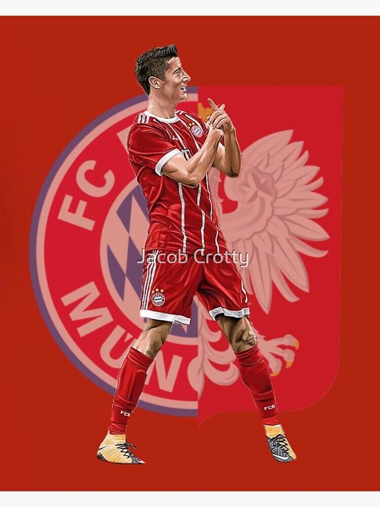 huge selection of 718e0 80003 Robert Lewandowski of Bayern Munich and Poland   Poster