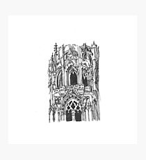 Cathedral of Chartres Photographic Print