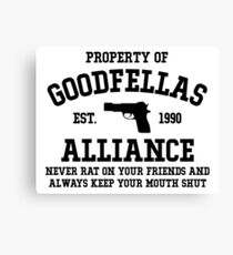 Property of the Goodfellas  Canvas Print