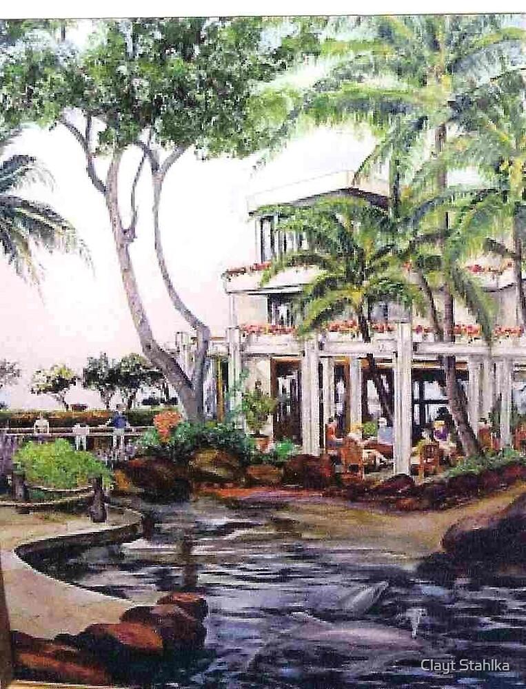 Hawaiian Watering Hole by Clayt Stahlka