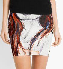 Warm Colors Mini Skirt