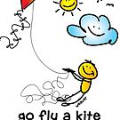 go fly a kite - it helps... by holydoodles