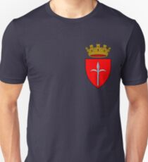 Coat of Arms of Trieste, Italy Unisex T-Shirt