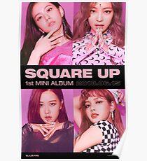 BLACKPINK SQUARE UP  Poster