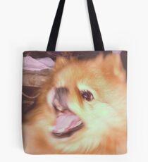 Doggo is shook Tote Bag