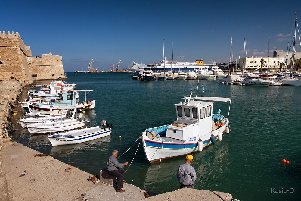 Fishin in the Harbour by Kasia-D