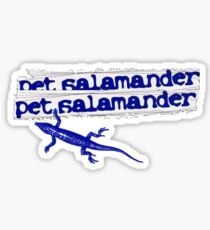 Pet Salamander Sticker
