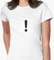 Exclamation Women's Fitted T-Shirt