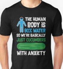 Human Body 90 Water Funny Quote Unisex T-Shirt