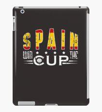 Spain will win iPad Case/Skin