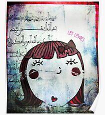 Les lèvres rouges Poster