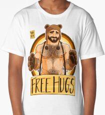 ADAM LIKES HUGS - BEAR PRIDE Long T-Shirt