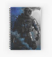 lion blue Spiral Notebook