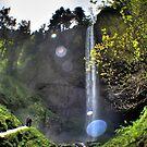 Latourell Falls by Philip Allgeier