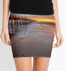 Grange Jetty Sunset - HDR Mini Skirt