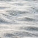 Sliky Flowing River Abstract  by Bo Insogna