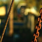 Chain and Wire on the old Ferry by myraj