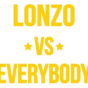 Lonzo Vs Everybody by mustardofdoom