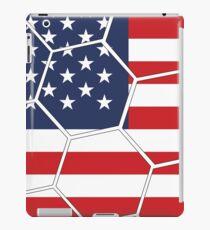 USA Football (Soccer) Design iPad Case/Skin