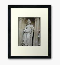 Religious statue Framed Print