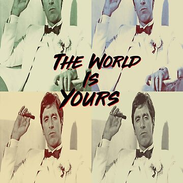 Al Pacino - The World Is Yours by FilmFactoryRayz