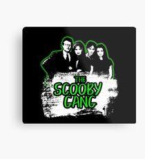 The Scooby Gang in Acid Green [BTVS] Metal Print