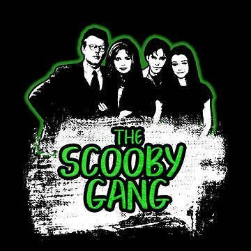 The Scooby Gang in Acid Green [BTVS] by Vixetches