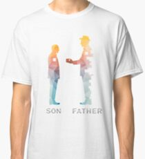 Vintage Father And Son Funny Father's Day T-shirts Classic T-Shirt