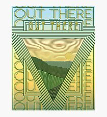 Out There Photographic Print