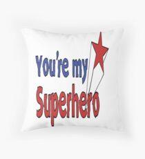 SUPERHERO Pop Art Floor Pillow