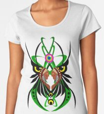 Ayahuasca vision psychedelic shamanism  Women's Premium T-Shirt